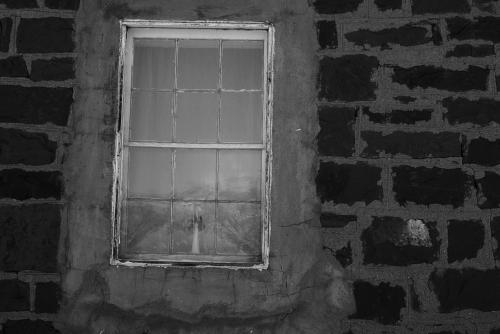 6-11-10 window in brick wall bw 1920
