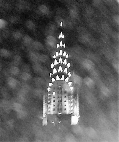Chrysler from the Waldorf Astoria NYC 4-19-14