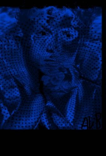 Cold Blue Man