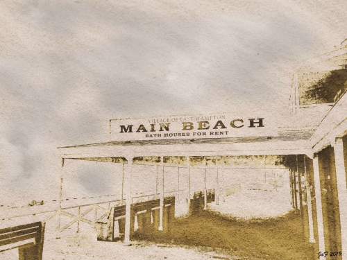 Main-beach-sign--Antique-look