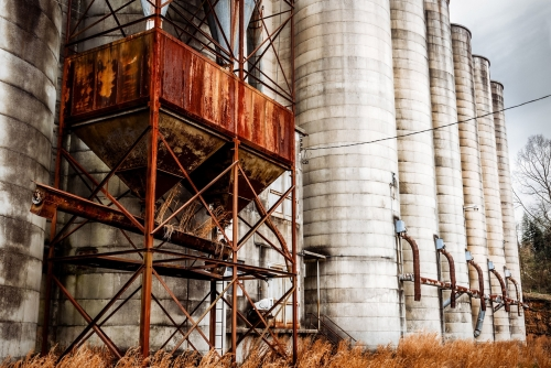 Old-Albemarle-Grain-Silos