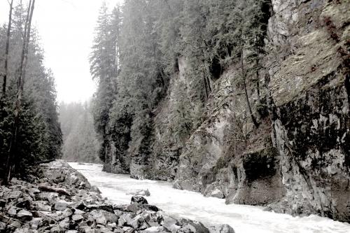 River-cliffs