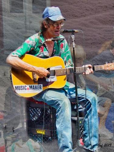 Street-Musician,-New-Orleans