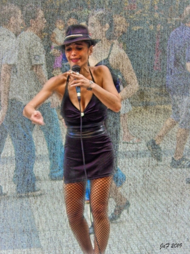 Street-performer-Buenos-Aires
