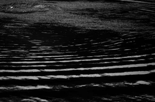 dark water wrinkles
